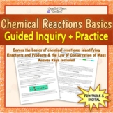 Chemical Reactions Basics Guided Inquiry