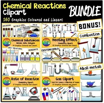 Chemical Reactions Clipart [BUNDLE]