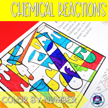 Chemical Reactions Color-by-Number