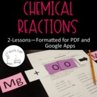 Chemical Reactions--Complete Lesson Plan