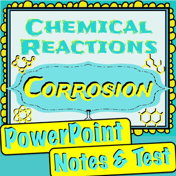Chemical Reactions - Corrosion Unit