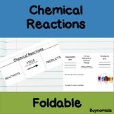 Chemical Reactions Foldable