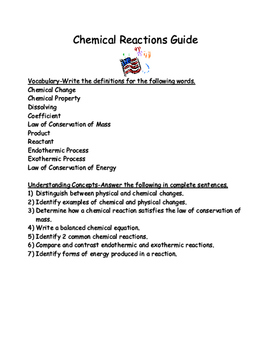 Chemical Reactions Guide