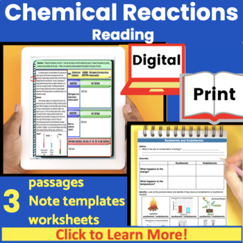Chemical Reactions Guided Reading