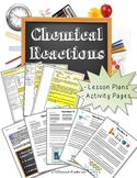 Science Activity - Chemical Reactions Lesson Plan, Experiments, & Worksheets