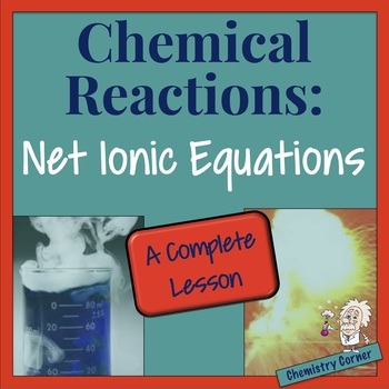 Chemical Reactions—Net Ionic Equations