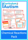 Chemical Reactions Autism Special Education Science