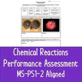 Chemical Reactions Performance Assessment, MS-PS1-2 Aligned