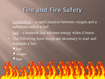 Chemical Reactions Power Point Presentation