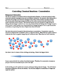 Chemical Reactions Rates: Concentration