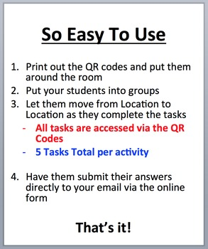 Chemical Reactions – Device-Based Scavenger Hunt Activity