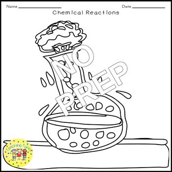 Chemical Reactions Crossword Puzzle
