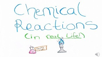 Chemical Reactions Slide Show w/ Sound Effects