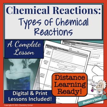 Chemical Reactions—Types of Chemical Reactions