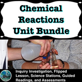 Chemical Reactions Unit Bundle | distance learning