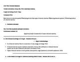 Chemical Reactions Unit Plan (UbD)