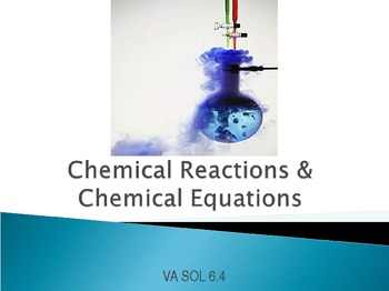 Chemical Reactions and Chemical Equations PowerPoint