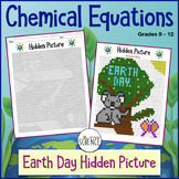 Chemical Reactions and Equations Earth Day (Color By Number)