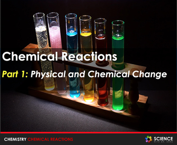 Chemical Reactions and Rates of Reactions