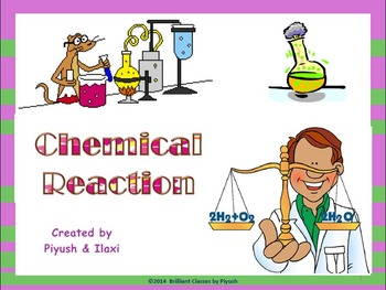 Chemical Reactions:Intro/Features/Reaction rate/Types/Rela