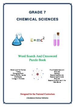 Chemical Sciences - 39 Pages - Wordsearch and Crossword Puzzle Book (AC Ed)