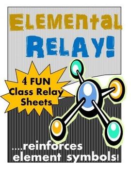 Chemical Symbols Game:  Elemental Relay