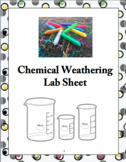 Chemical Weathering Lab Sheet