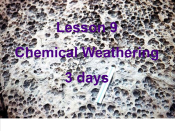 Chemical Weathering  The Planet Rock