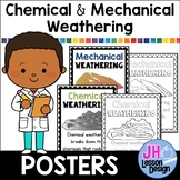 Chemical and Mechanical Weathering Posters