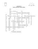 Chemical and Physical Aspects of Water Puzzle Pack w/Answer Keys