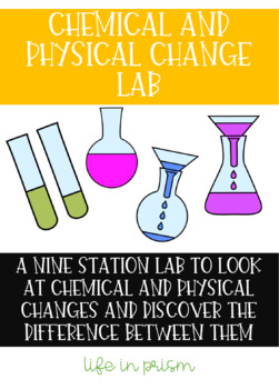 Chemical and Physical Change Lab