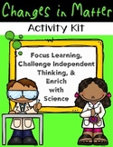 Chemical and Physical Changes Activities