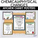 Chemical and Physical Changes Anchor Chart Classroom Decor Posters