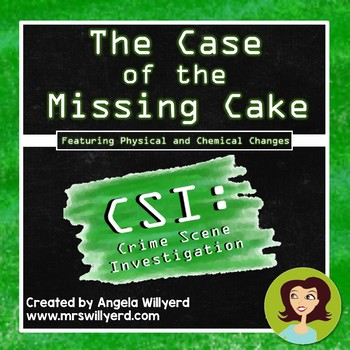 chemical and physical changes - csi lab: the case of the missing, Powerpoint templates
