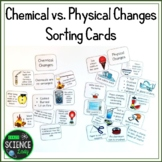 Chemical and Physical Changes: Sorting Cards
