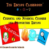 Chemical and Physical Changes and Properties Escape Room | The Escape Classroom