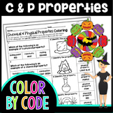Chemical and Physical Properties Color By Number   Science Color by Number