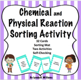 Chemical and Physical Change Sorting Cards #turkeydeals