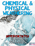 Chemical and Physical Weathering Differentiated Nonfiction Reading Passages