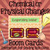 Chemical or Physical Change? - Boom Cards Interactive Task Cards