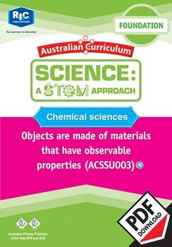 Chemical sciences including STEM project – Foundation
