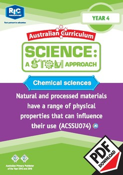 Chemical sciences including STEM project - Year 4