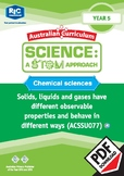 Chemical sciences including STEM project - Year 5