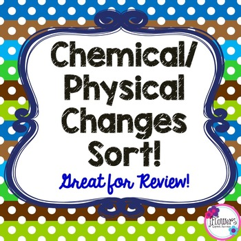 Chemical/Physical Changes Sort! Great for Review!