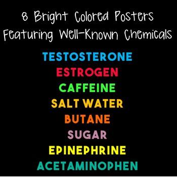 Chemicals Poster BUNDLE!