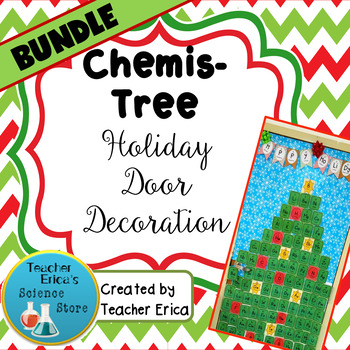Chemis-Tree Holiday Decoration- BUNDLE