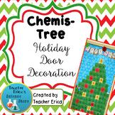 Chemis-Tree Holiday Door Decoration