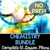 Chemistry 5E Lesson Plans Bundle - Distance Learning Options