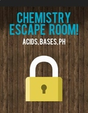 Chemistry Acids and Bases Escape Room Activity