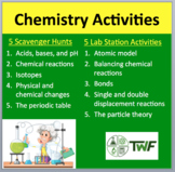 Chemistry Activities - My 10 Most Popular Lab Stations & Digital Scavenger Hunts